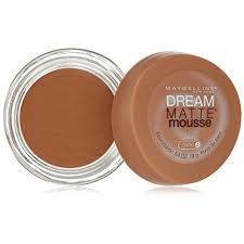 maybelline dream matte mousse classic ivory light 2 maybelline new york dream matte mousse foundation caramel dark 2