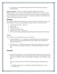 food truck business plan template sample video youtube excel
