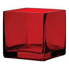 Square Glass Vase Square 4