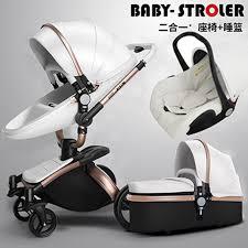 siege poussette aulon bébé poussette 3 en 1 avec siège de voiture haute landscope
