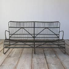 Outdoor All Weather Wicker Furniture by Open Weave All Weather Wicker Sofa Terrain