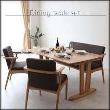 Cafe Dining Table And Chairs 4 Person Dining Table Kagu Mori Rakuten Global Market The Nordic
