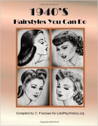 1940s bandana hairstyles 1940 s hairstyles you can do c franzwa 9781478272977 amazon