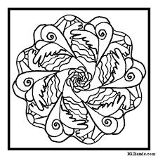 free printable mandala coloring pages angel mandalas free