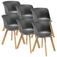 Esszimmertisch Quentin En Casa Esstisch Mit 6 Stühlen Bambus Grau 180x80 Küchentisch