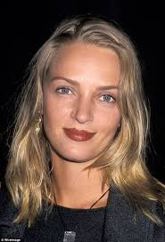 uma thurmans hair in kill bill uma thurman confesses to owning 8 000 lipsticks daily mail online