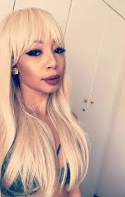 kelly khumalo s recent hairstyle pic of the day kelly goes blond daily sun