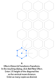 how to make a hex grid adobe community