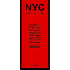 Metro Property Maps by Nyc Manhattan City Guide By Red Maps