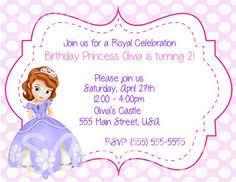 sofia the first birthday invitations free rashidablair com