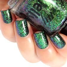 flakie nail polish ultra multichrome flake lacquer color