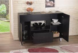 oak buffet server table med art home design posters