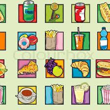 Clipart Essen Und Trinken by Fast Food Clipart Vektorgrafik Colourbox
