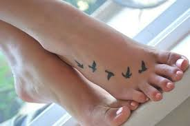 69 impressive bird tattoos on foot