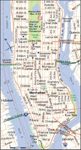 map of nyc map nyc manhattan major tourist attractions maps