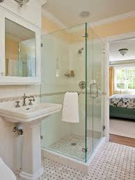 Corner Shower Stalls For Small Bathrooms by Spaces Small Bathroom Corner Shower Design Pictures Remodel