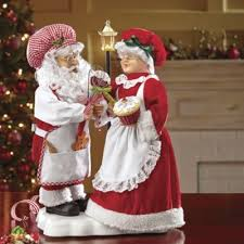 Vintage Animated Christmas Decorations by 28 Best Animated Santa And Mrs Claus Images On Pinterest Vintage