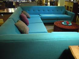 Aqua Leather Chair Furniture Small Sectional Leather Sofa And Pit Sectional For