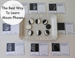 moon activities montessori astronomy