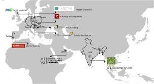 World Map Hungary by Csapl International Associates