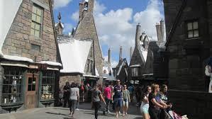 Harry Potter Adventure Map The Great Wizarding World Debate Hogsmeade Vs Diagon Alley