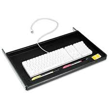 Cable Tray Under Desk Keyboard Trays Staples