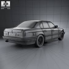 1992 bmw 7 series bmw 7 series e32 1992 by humster3d 3docean