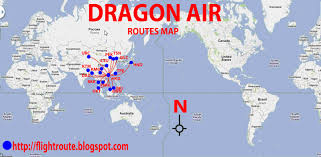 Alaska Air Route Map by International Flights Dragon Air Routes Map