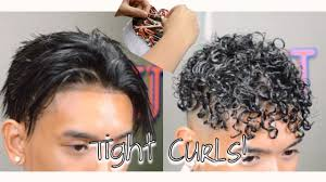 tight perms for short hair how to get curly hair tight curls perm youtube
