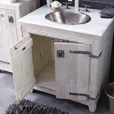 30 inch americana vanity suite in driftwood native trails