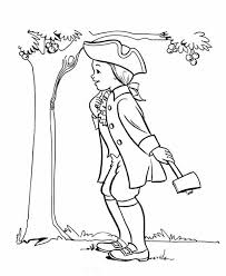 apple tree coloring pages random related image of surprising george washington coloring page