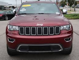 jeep wj roof lights certified used 2017 jeep grand cherokee ltd 4x4 with nav roof and