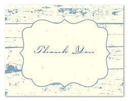 thank you greetings shabby chic on plantable paper by