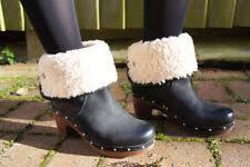 womens ugg lynnea boots block heel clog boots for ebay