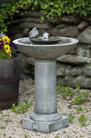 terrific cast stone bird bath design with round bowl and fabulous concrete stone bird bath design with water fountain bowl standing with pedestal on