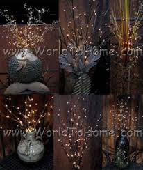 Led Branch Centerpieces by Three Centerpieces I Made For A Winter Theme Event Led Light