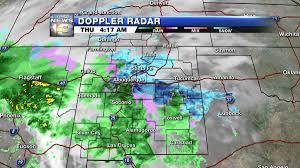 Unm Map New Mexico Gets Sleet Snow Freezing Rain Krqe News 13