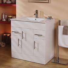 750 vanity unit basin with cabinet white 4 vanity units 900 600