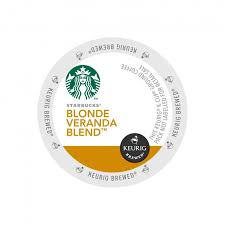 Starbucks Light Roast Buy Starbucks Blonde Veranda Blend Light Roast Keurig K Cup