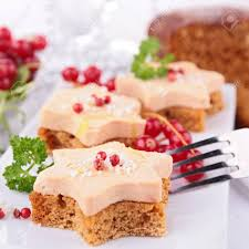 canapé au foie gras canape with gingerbread and foie gras stock photo picture and