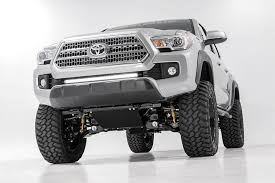 suspension lift kits for toyota tacoma 4in suspension lift kit for 2016 2017 toyota 4wd tacoma 75720