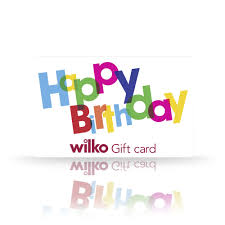 wilko birthday gift card at wilko