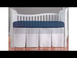 summer infant adjustable crib skirt product video youtube