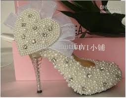 pearl wedding shoes fashion ivory pearl wedding shoes bridal shoes bridesmaid