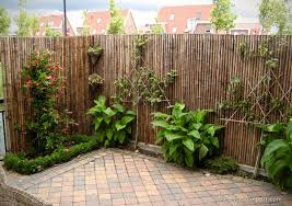 trendline black bamboo fence panel 180 x 200 cm