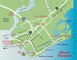 Boone Map Mount Pleasant Sc Map Things To Do In Charleston Sc Visitor Info
