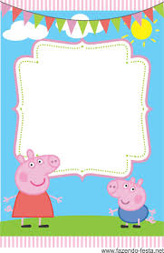 Invitation Card Party Birthday 50 Best Emme U0027s 5th Birthday Peppa Pig Images On Pinterest