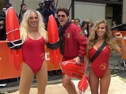 Skimpy Male Halloween Costumes Matt Lauer Blonde Wears Skimpy Bathing Suit Baywatch
