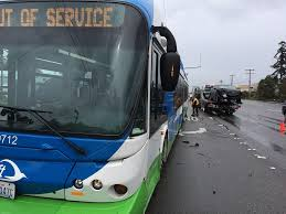 lexus of kendall address no injuries as car hits swift bus on highway 99 wednesday my