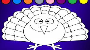 learn colors for kids peacocks coloring page youtube